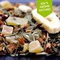 Infusion fruitee Pêche Goyave Gingembre