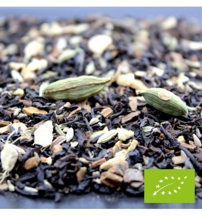 Chai thé noir BIO*