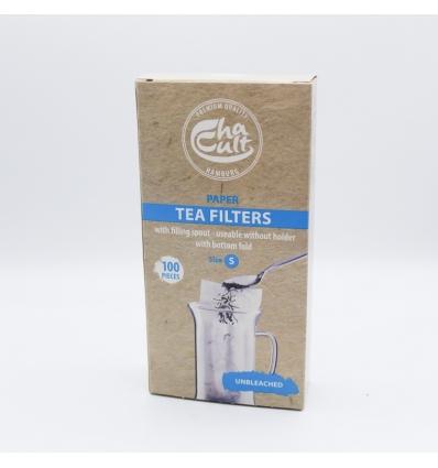 Boite de 100 filtres papier taille S
