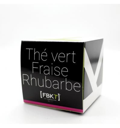 Gamme Bistrot - Thé vert Fraise Rhubarbe