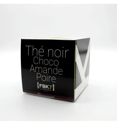 Gamme Bistrot - Thé noir Choco Amande Poire