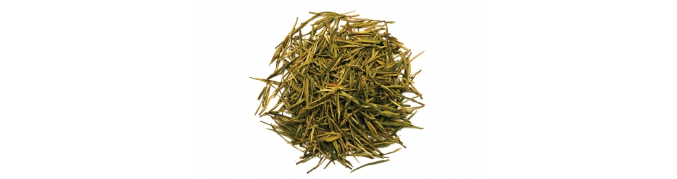 Thés verts, thés blancs et thés jaunes