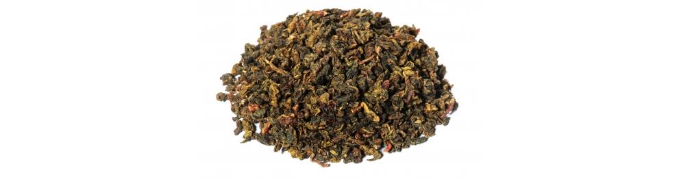 Thé vert-bleu (Oolong ou Wulong)